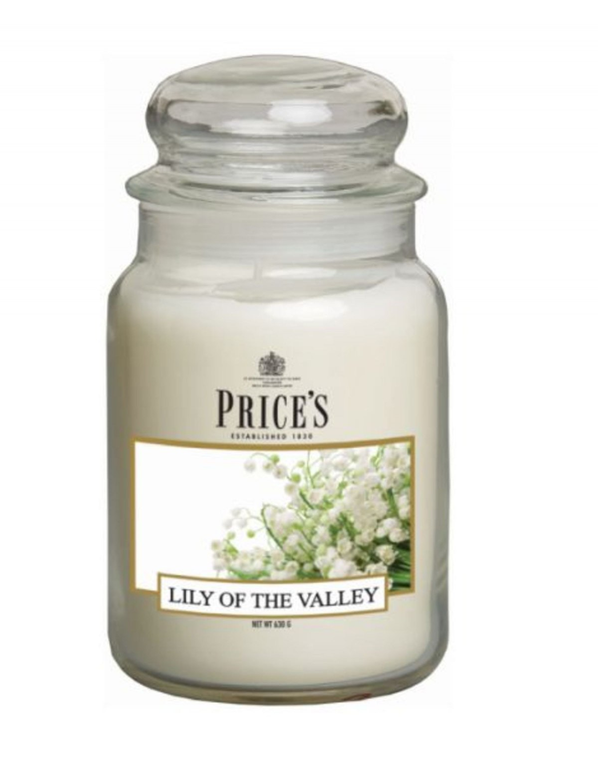 Large Jar Scented Candle -...