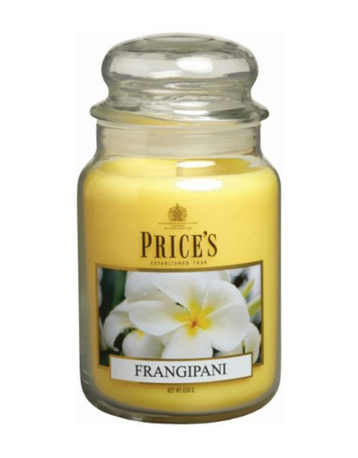 Scented candle in large jar...