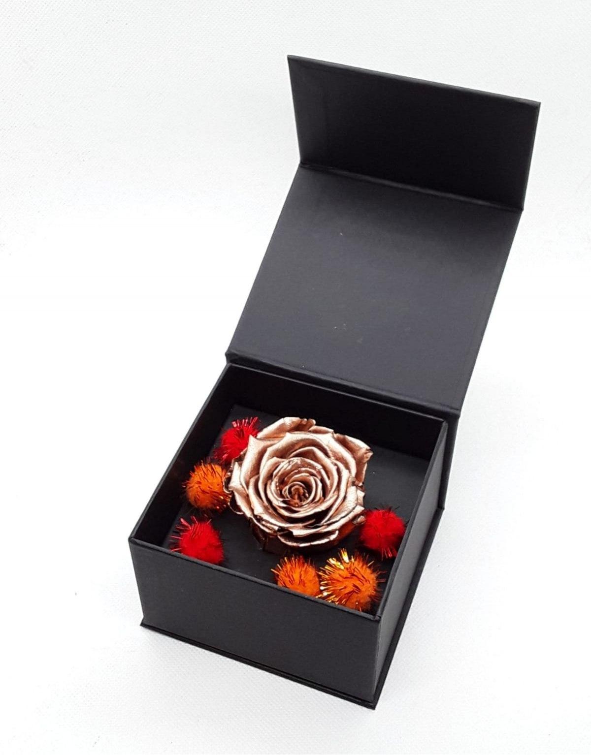 Rose Stabilized Bronze in Box