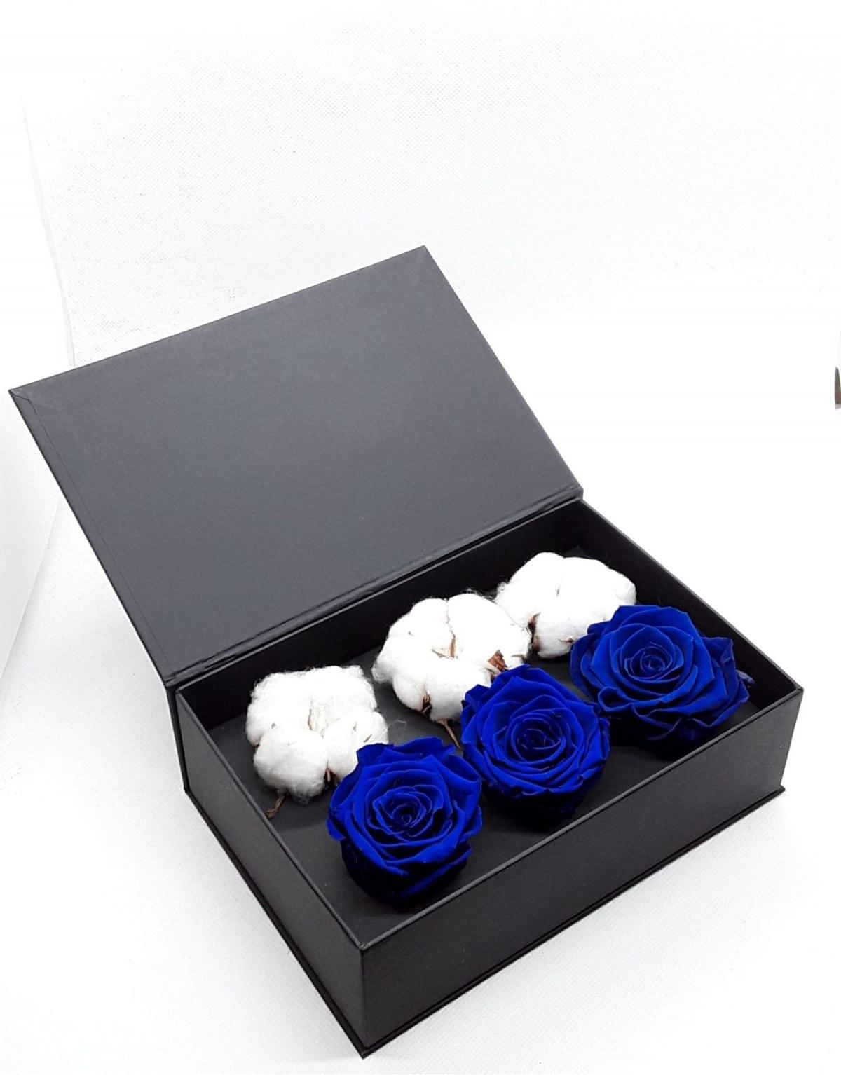Rose Stabilizzate Blu in...